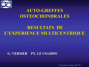 Formation chirurgie orthopédique