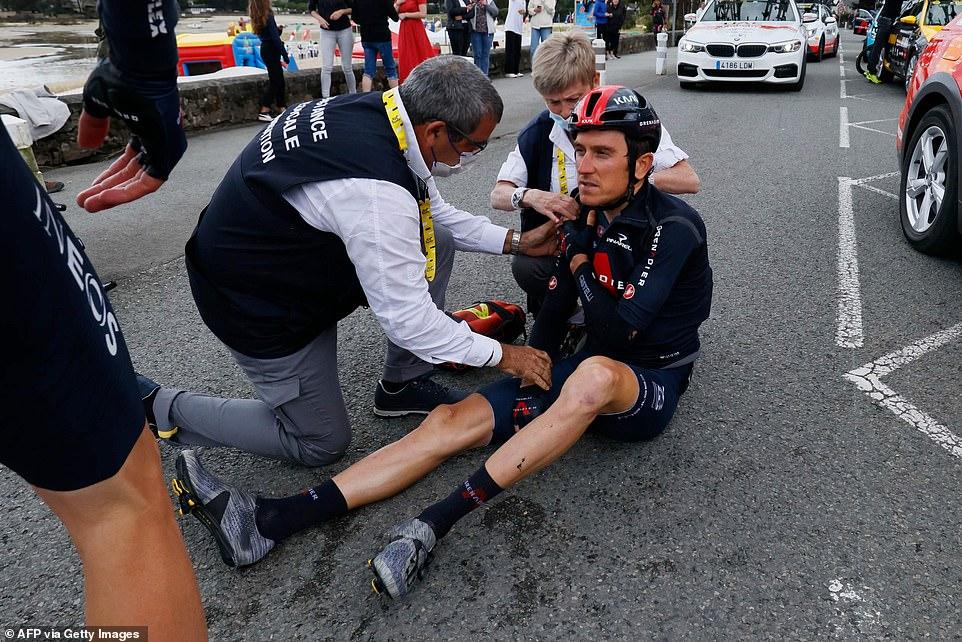 Pr Gilbert Versier Thomas Geraint Tour de France 2021 luxation épaule