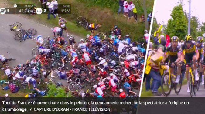 Tour de France : énorme chute dans le peloton Gilbert Versier chirurgien orthopédiste du Tour