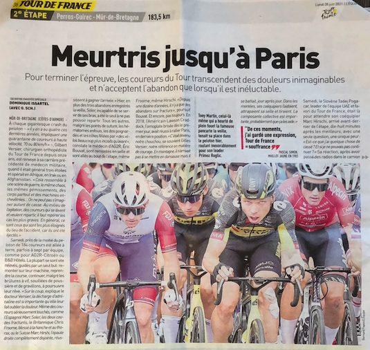 Tour de France 2021 l'Equipe
