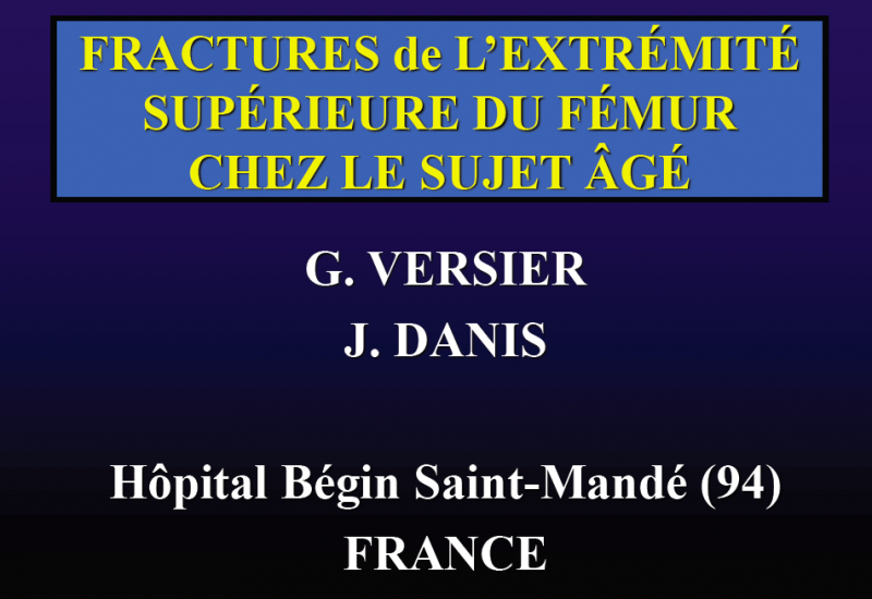 Formations chirurgie orthopédique